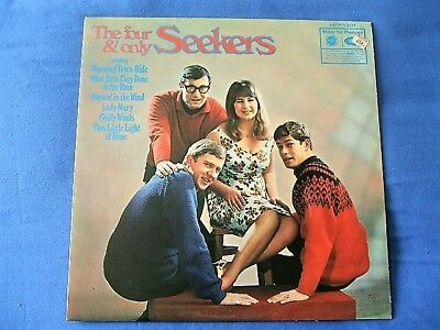 """1964 The Seekers ~ The Four & Only Seekers Vinyl Lp Vg+/Vg Mfp 1301 """"A"""""""