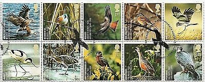 GB Stamps 2007 'Action for Species - Birds' - Fine used