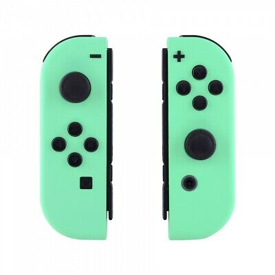Custom Mint Green Housing Shell Cover + Full Buttons for Nintendo Switch Joy-Con