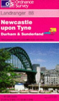 Newcastle Upon Tyne, Durham and Sunderland (Landranger Maps), Ordnance Survey, U