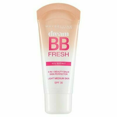 *2 Pack Maybelline Dream BB Fresh Soy Extract 8in1 Beauty Balm - LIGHT/MEDIUM*
