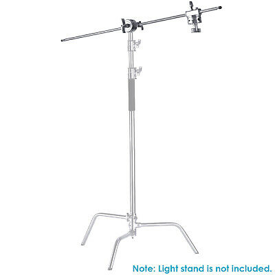 "Neewer Extension Grip Arm Boom Arm with 2 Pieces Grip Heads, 40"" for light stand"
