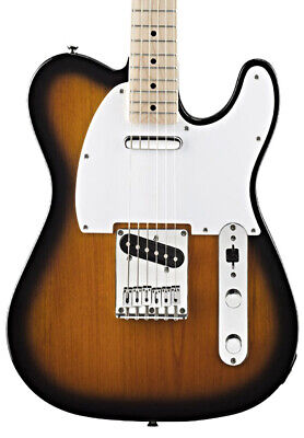 Fender Squier Affinity Telecaster Electric Guitar, 2-Tone Sunburst, Maple (NEW)