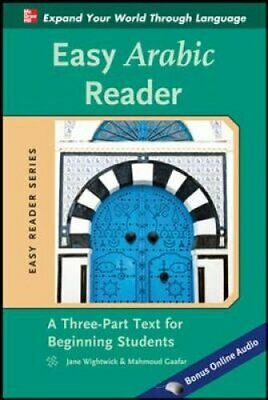 Easy Arabic Reader by Jane Wightwick 9780071754026 | Brand New
