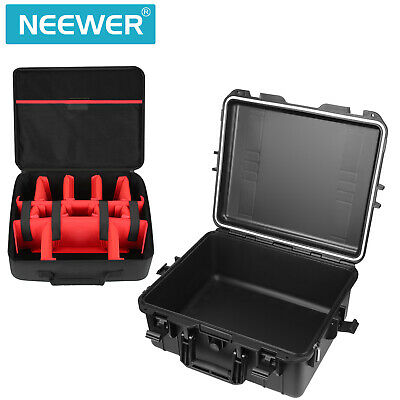 Neewer Waterproof Hard Case with Inner Bag - Padded Dividers Design for Camera
