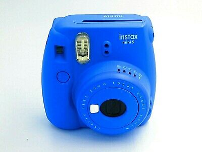 Fujifilm Instax Mini 9 Instant Camera - BLUE - No Battery, Film Or Close Up Lens