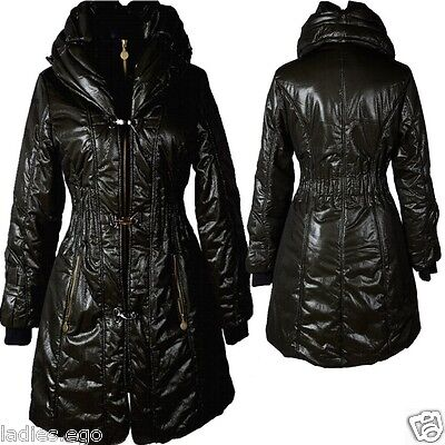 DAMEN WARM BALLON WINTER JACKE MANTEL PARKA 40 42 M L STEPPJACKE ANORAK TRENCH