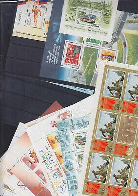 072660 Rossija Blocks + Sheets Stamps Kleinbogen ** MNH Lot - Year 1996