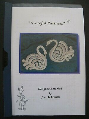 """GRACEFUL PARTNERS"" Crysanthemum Lace Design by Joan G. Francis - Lace Patterns"