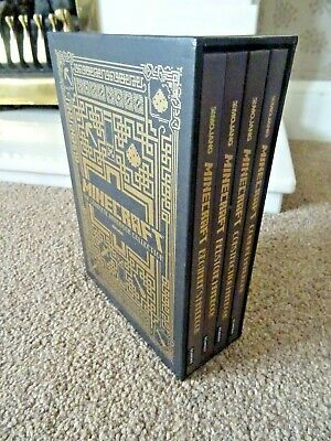 MINECRAFT - THE COMPLETE HANDBOOK COLLECTION - 4 x HARDBACK BOOKS - IMMACULATE!