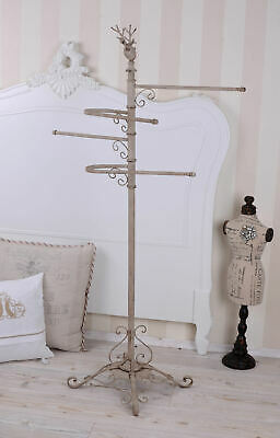 XXL Towel Holder Shabby Chic Towl Rack Coat Rack Towel Stand