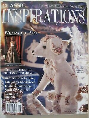 CLASSIC INSPIRATIONS – Issue No. 18, 1998 Australian Embroidery Magazine