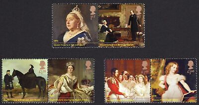 2019 QUEEN VICTORIA BICENTENARY - Mint Stamp Set of Six