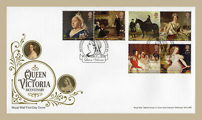 2019 QUEEN VICTORIA Stamp Set or Mini Sheet FIRST DAY COVERS (choice) London W8
