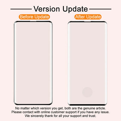 IMAK 3D Full Screen Curved Tempered Glass Protector Fo Samsung Galaxy S10 / Plus
