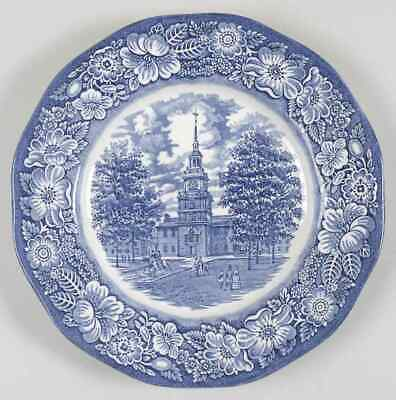 Staffordshire LIBERTY BLUE Dinner Plate S5949294G3
