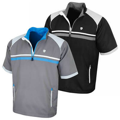 Island Green Mens 2019 Water Repellent Wind Stopper Thermal Golf Top 30% OFF RRP