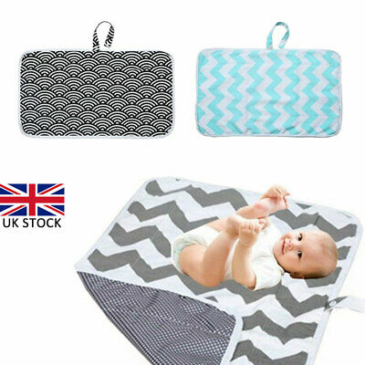 Baby Diaper Changing Mat Foldable Infant Care Travel Waterproof Play Nappy Mat