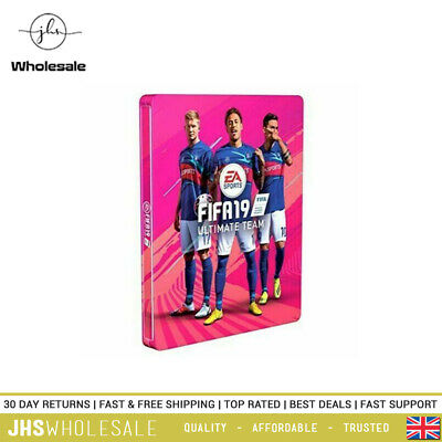 Fifa 19 Ultimate Team Xbox One/PS4/PC Special Edition Steel Case In Pink