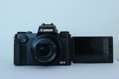 Canon powershot G5X Point and Shoot Digital Camera