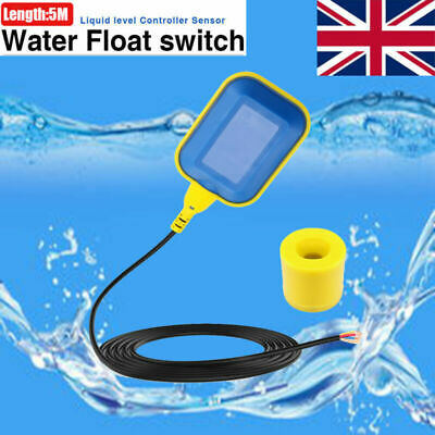 Float Switch 5M 12V - 250V Automatic Cable Water Level Control Pump Submersible