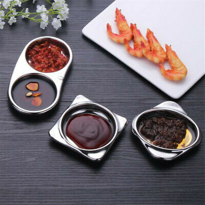 Sauce Dish Wooden Food Dipping Plates Seasoning Dishes for Hotel Restaurant S