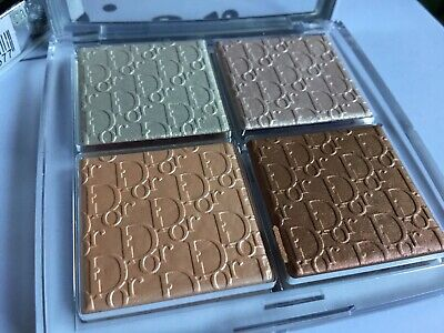 Dior Backstage Glow Face Palette Highlighter 002 Glitz Summer 2019 New Boxed