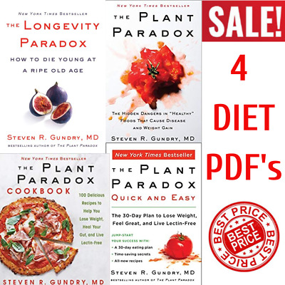 Longevity by Dr. Steven R Gundry How to Die Young at a Ripe Old Age Paradox P DF