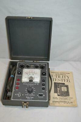 Vintage Accurate Instruments Utility Tester 161 Electrical Auto Tube Tester