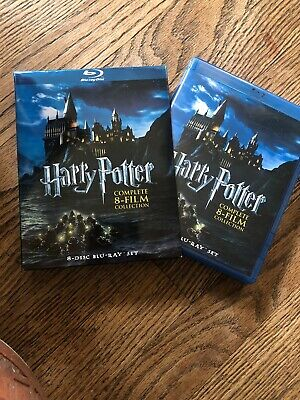 Harry Potter: Complete 8-Film Collection [Blu-ray] Teen Cult Classic Movie Set