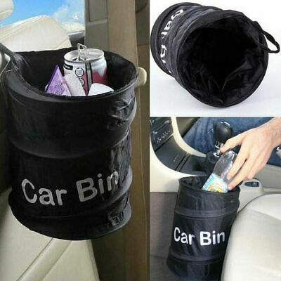 Portable Reusable Car Bin Trash Can Pop-up Leak Proof Trash Bin Box Hanging Bag