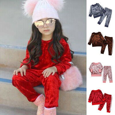 Boys Tracksuit Outfit Warm Toddler Autumn Clothes Sweatshirt Long Sleeve Baby