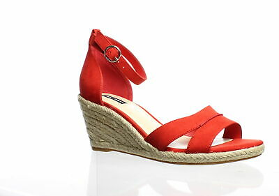 2944f667c67 WOMENS NINE WEST Size 8M 8 Westport Red Suede Leather Wedge High ...