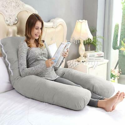 Pregnancy & Maternity Pillow U-Shaped Body QUEEN ROSE Removable & Washable Baby.