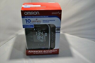 OPEN Omron BP786 Blood Pressure Monitor 10 Series Plus Bluetooth Smart X-Large