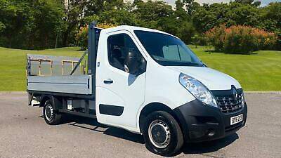 2016 RENAULT MASTER Mwb Diesel Fwd ML35dCi 125 Business Low Roof Dropside
