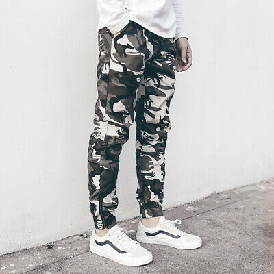 Combat Men's Cotton Cargo ARMY Pants Military Camouflage Camo Trousers 2108 New