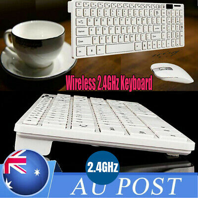 3in1 2.4G Optical Wireless Keyboard and Mouse Combo Kit with USB Receiver