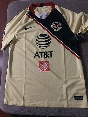 76db062bd NIKE CLUB AMERICA Jersey 100% Authentic 2018/2019 Mexico large SIZE ...