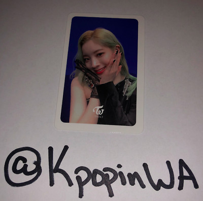 Twice Kpop Fancy You Photocards Official Select Member Great condition