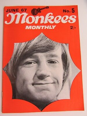 THE MONKEES ORIGINAL MONTHLY No 5 JUNE 1967