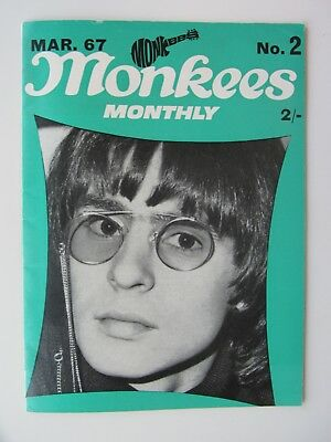 THE MONKEES ORIGINAL MONTHLY No 2 MARCH 1967