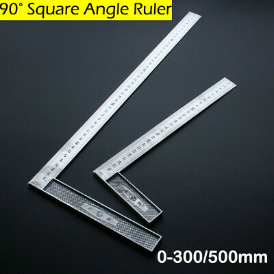Engineers Testing Accurate Square Angle Ruler 90°Right Measurement Woodworking