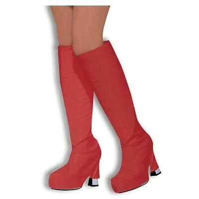 Clone of 1960's 1970's Fancy Dress Red Go Go Boot Cover