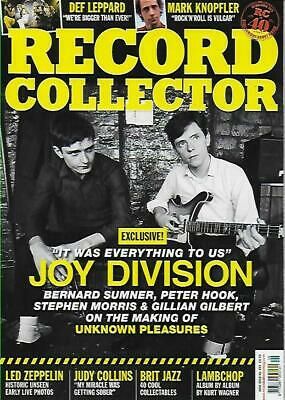 RECORD COLLECTOR- No.493 June 2019 (NEW)*Post included to UK/Europe/USA