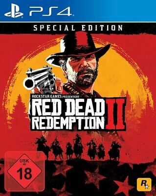 Red Dead Redemption 2 Special Edition  - PS4 (USK18)