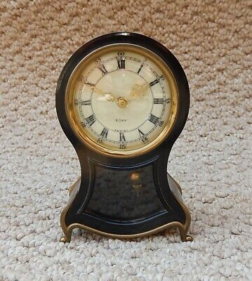 Superb Petite 8 day  Mantel Clock Fully Working 2968