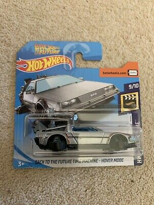 hotwheels back to the future Delorean Hover Mode Mint Carded