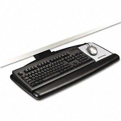 3M AKT90LE Easy Adjust Keyboard Tray - Black