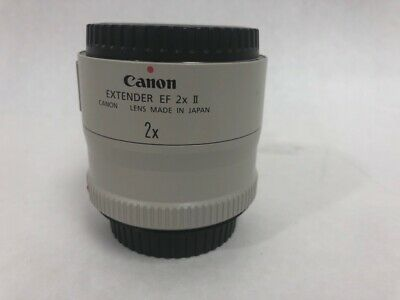 Canon Extender EF 2X II Teleconverter Lens Made in Japan (HE3002961)